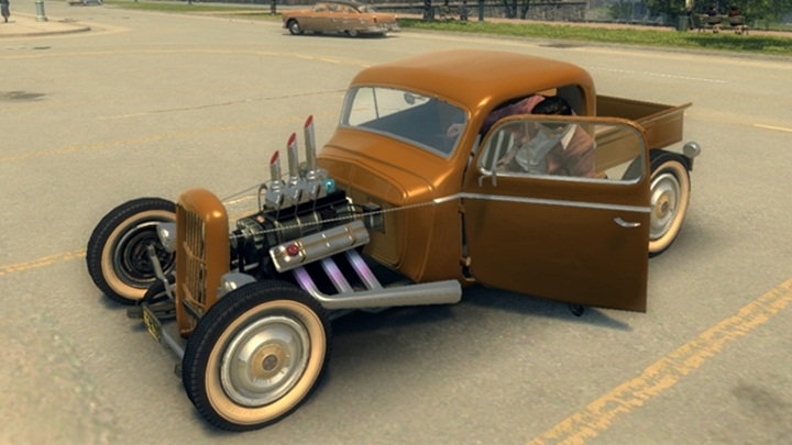 "Mafia 2 – Shubert ""Grandpa's Crutch"" Rat Rod"