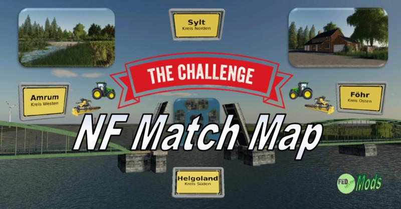 FS19 - NF Match 4X Multifruit Map V1.2