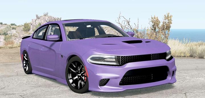 BeamNG – Dodge Charger SRT Hellcat (LD) 2015 Car Mod