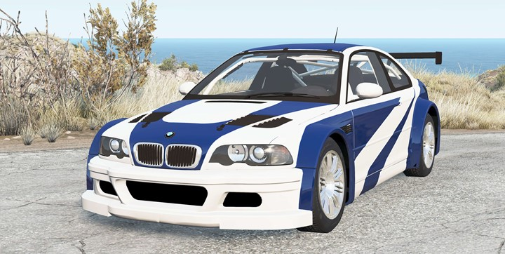 BeamNG - BMW M3 GTR (E46) Most Wanted