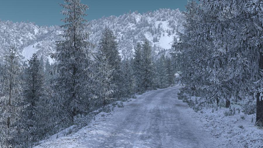 ATS - Frosty Winter Weather Mod V2.7 (1.36.x)
