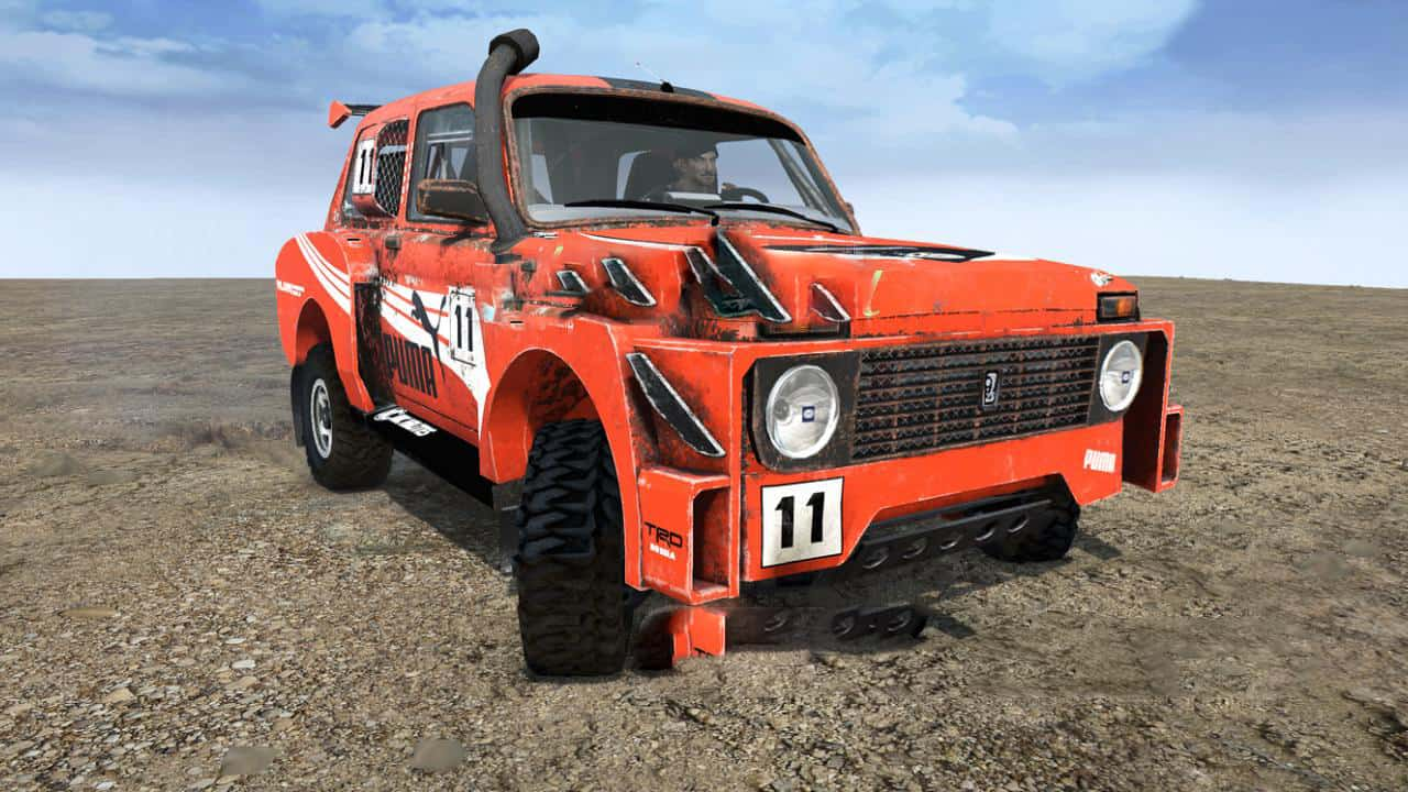SpinTires:Mudrunner - Lada 4x4 Car v1.0
