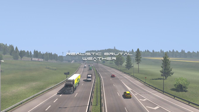 ETS2 - Realistic Brutal Weather V5.2 (1.38.x)