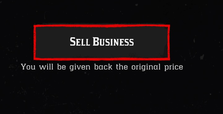 RDR2 - Gunsmith Business