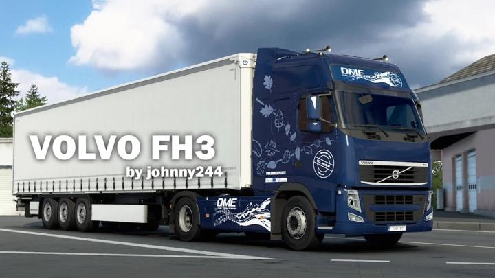 ETS2 - Volvo FH 3rd Generation V1.051 (1.41.x)