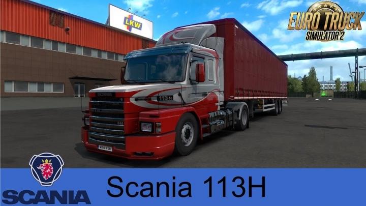 ETS2 - Scania 113H Torpedo Megamod (1.41.x)