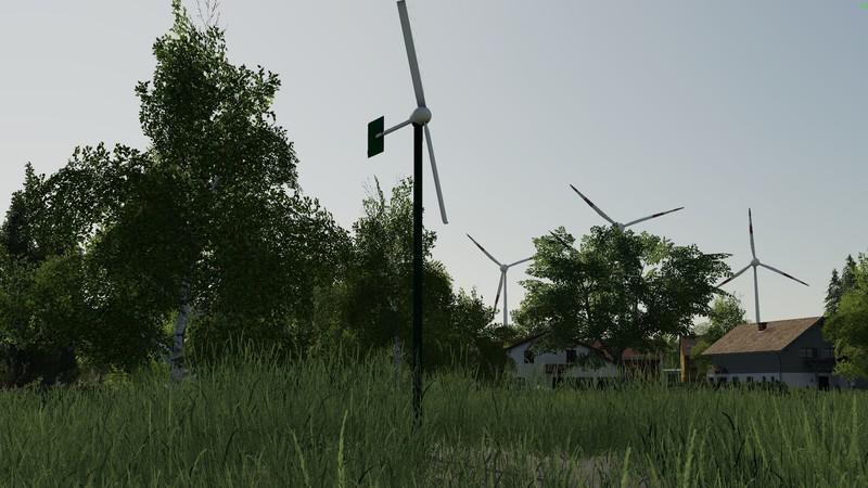 FS19 - Two-Wing Mini Wind Turbine V1.0