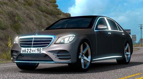 ATS - Mercedes-Benz S400D V3.0 (1.39.x)