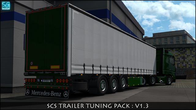 ETS2 - Scs Trailer Tuning Pack V1.3 (1.35.X)
