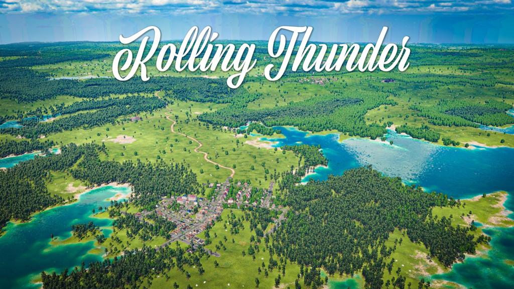 Transport Fever 2 - Rolling Thunder Map