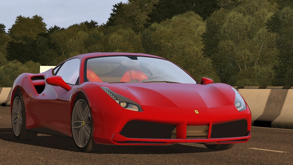 City Car Driving 1.5.8 - Ferrari 488 GTB 2015