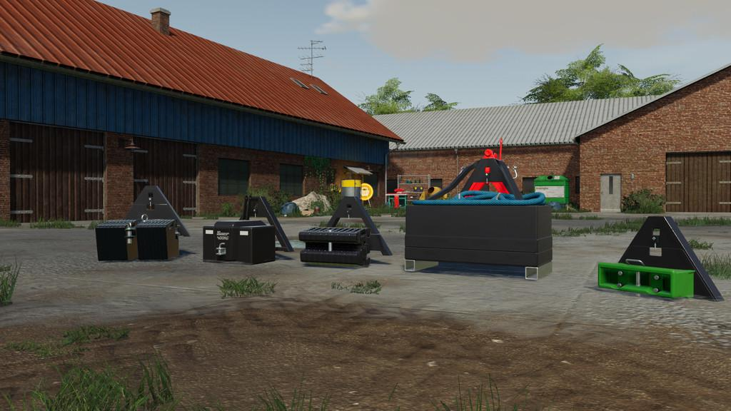 FS19 - Tractor Triangle Pack V1.3
