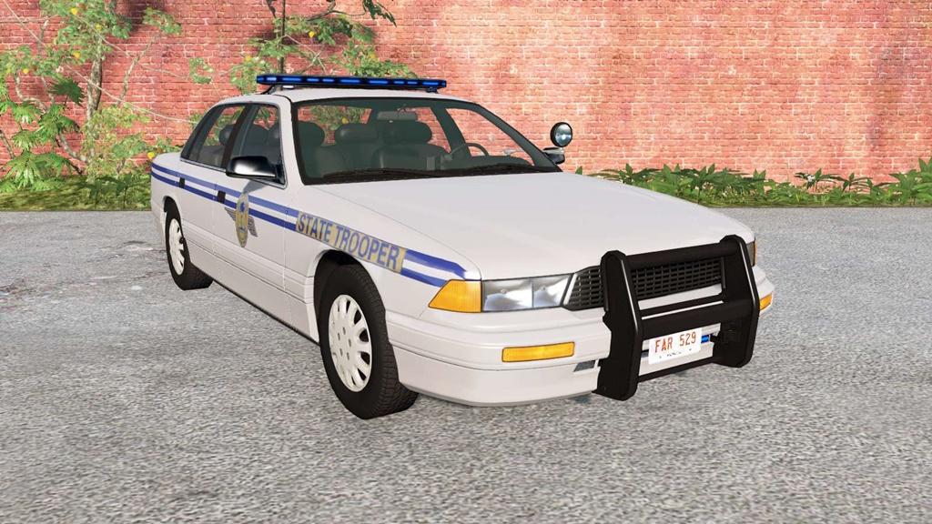BeamNG - Gavril Grand Marshall US 50 States Police Car Mod
