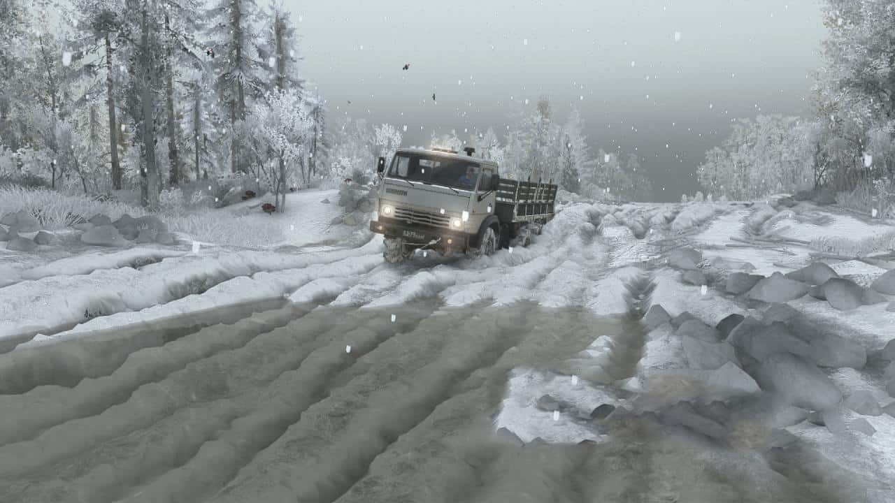 Spintires - Winter Mod with Automatic installation V1.00