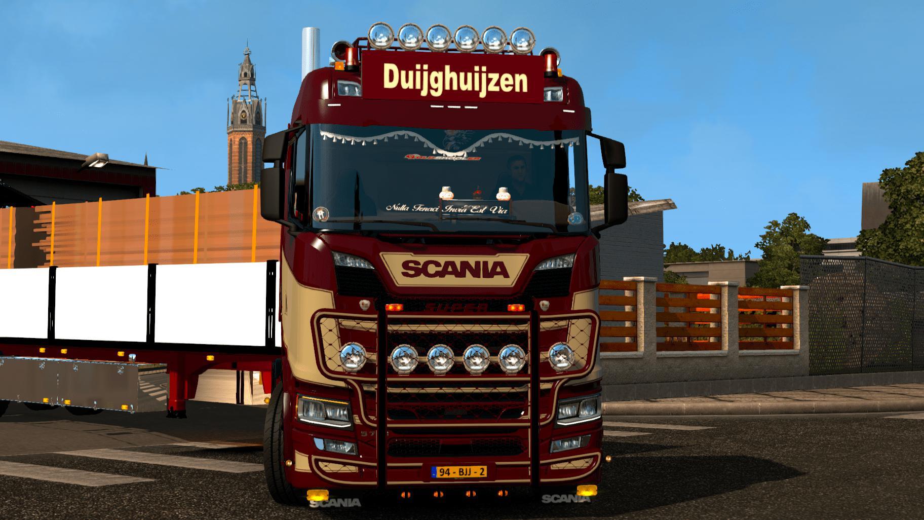 ETS2 - Scania S Duijghuijzen Skin (1.35.X)