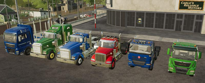 FS19 - Truck Pack Oy Mp V19.8
