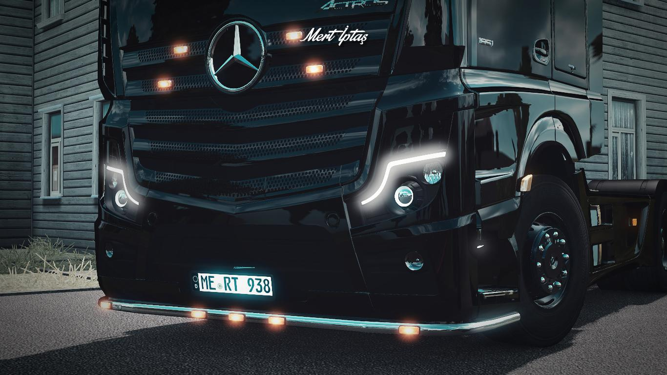 ETS2 - Mercedes-Benz Actros MP5 2020 V1.1 (1.37.x)