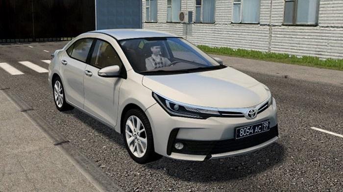 City Car Driving 1.5.9 – Toyota Corolla E190 2017