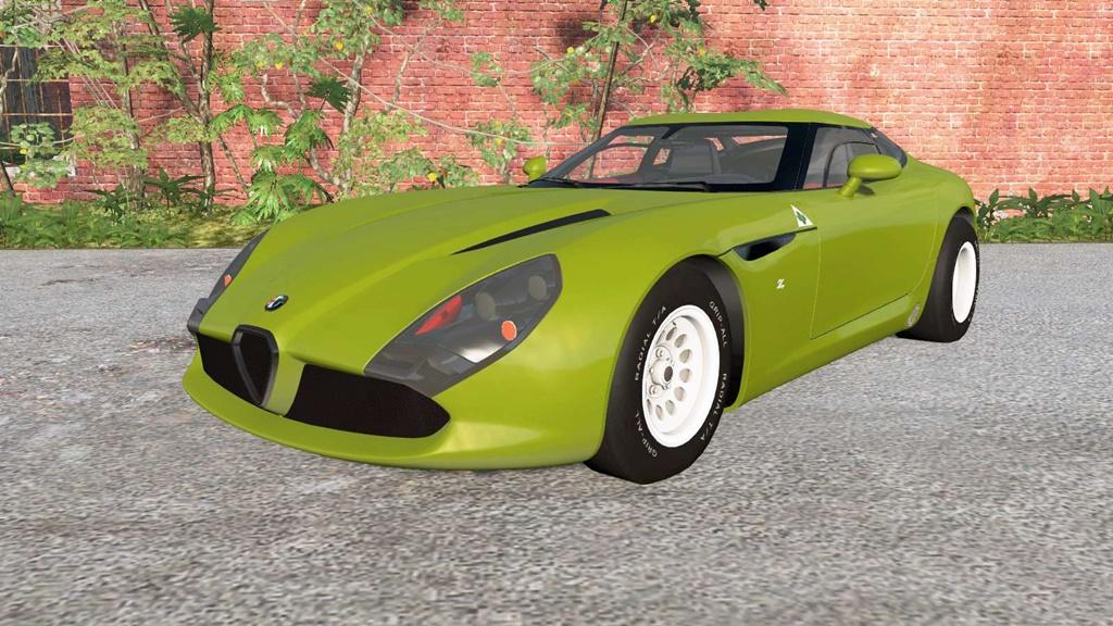 BeamNG - Alfa Romeo TZ3 Stradale 2011 Car Mod