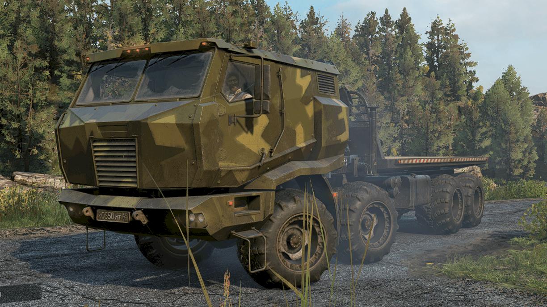 SnowRunner - Azov 5319 Arched Tires V1.0.0
