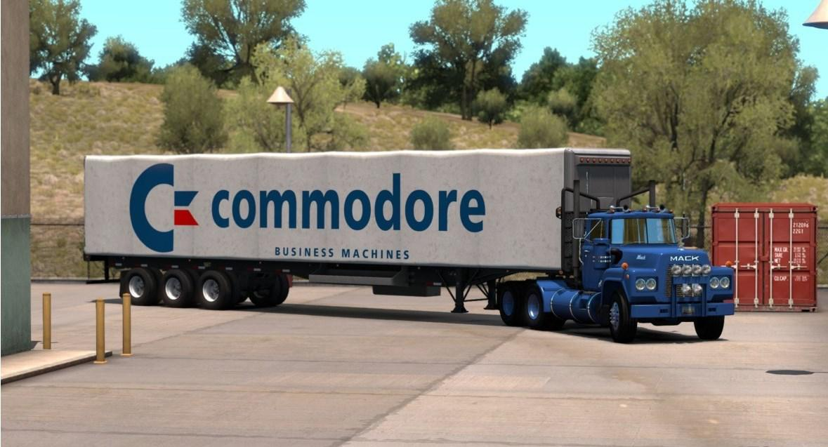 ATS - Commodore Skin for Standard Trailers V1.0 (1.37.x)