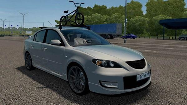 City Car Driving 1.5.9 - Mazda 3 1.6
