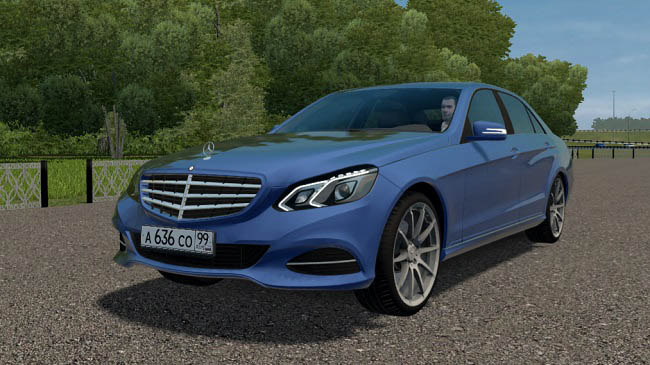 City Car Driving 1.5.9 - Mercedes-Benz E300 (W212) Stage 1