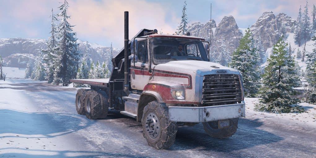 SnowRunner - Freightliner 114SDR Truck V0.9