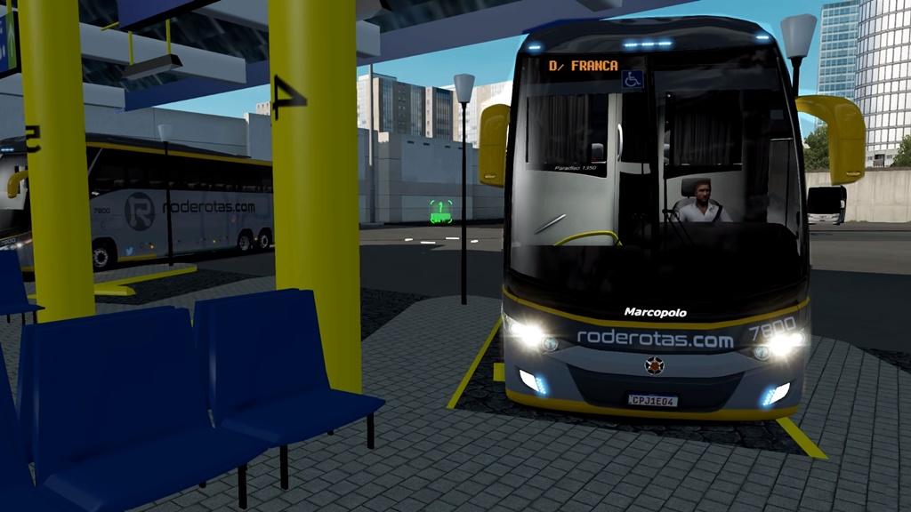 ETS2 - Marcopolo G7 1350 Volvo Bus V1.3 (1.36.x)