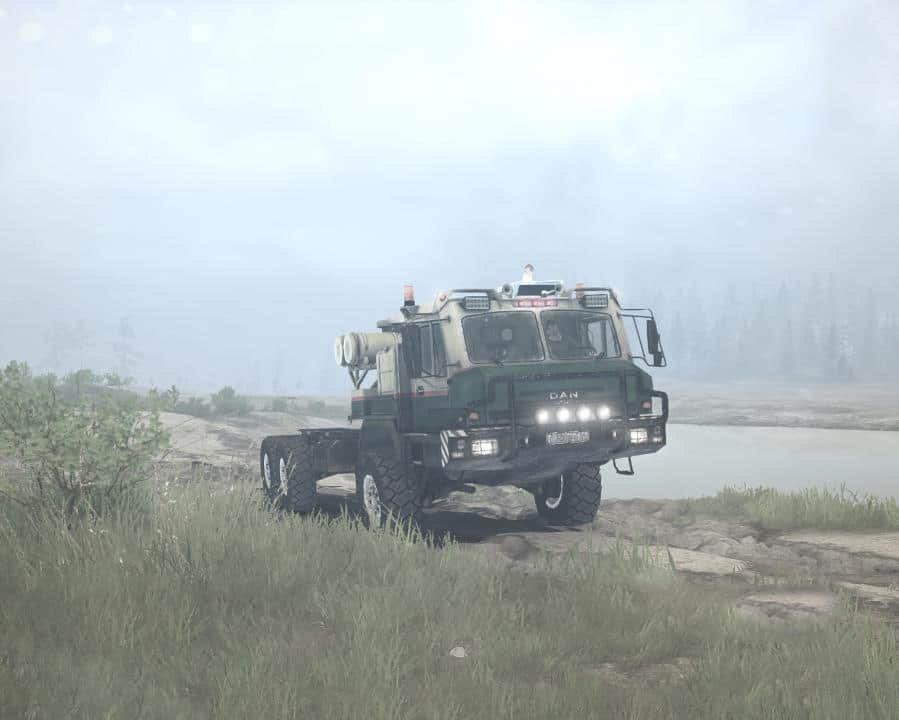 Spintires:Mudrunner - Dan 96320 (Baz-69092) Truck V1.04