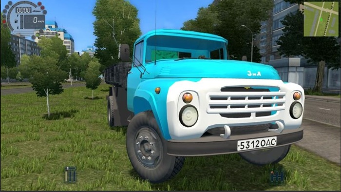 City Car Driving 1.5.9 – Zil-130 Board Truck