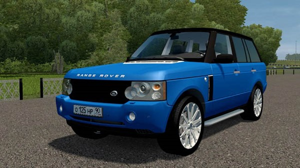 City Car Driving 1.5.9 - Range Rover Pontorezka