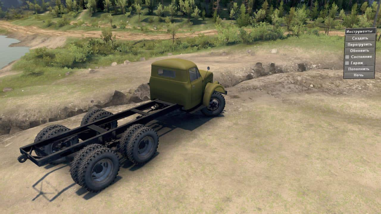 "Spintires - Gaz 33 ""Tests"" Truck V1.0"
