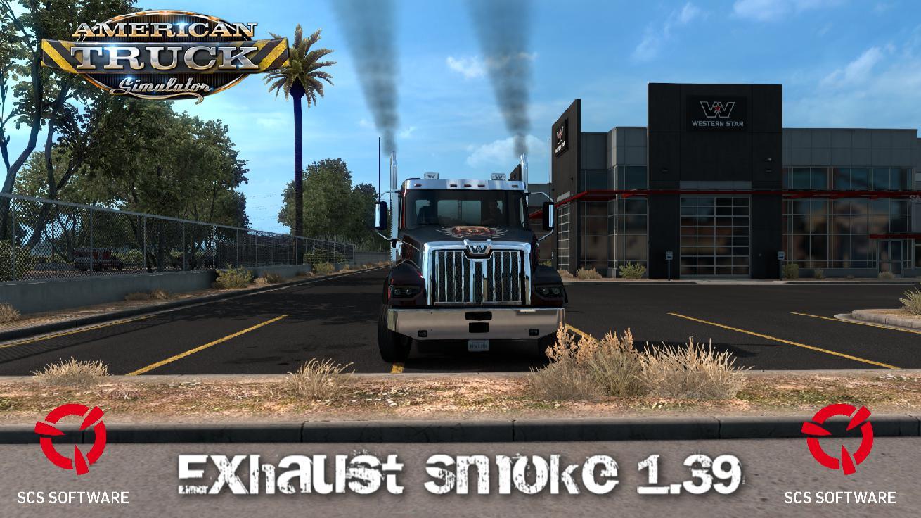 ATS - Exhaust Smoke (1.39.x)