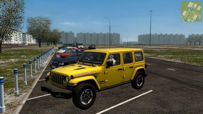 City Car Driving 1.5.9 - Jeep Wrangler JLU Rubicon