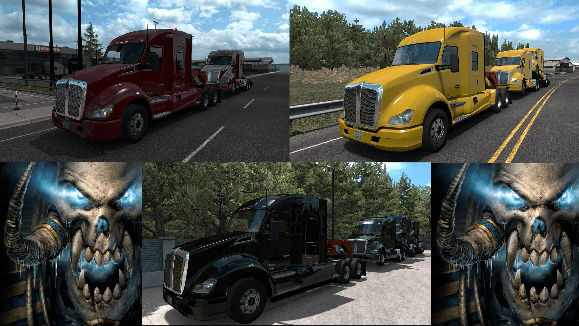 ATS - Truck Transporter Ownable [MP-SP] (1.35.X)