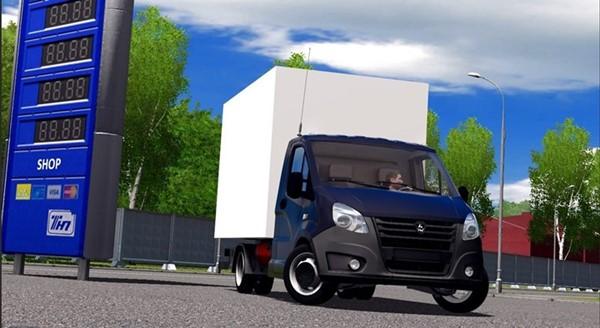 City Car Driving 1.5.9 - Gazelle Next Truck