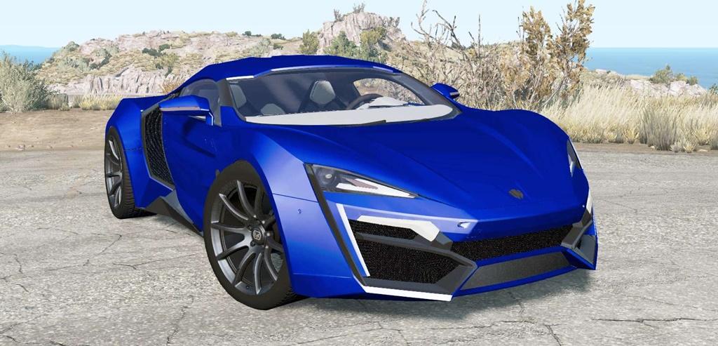 BeamNG - Lykan HyperSport 2014 Car Mod