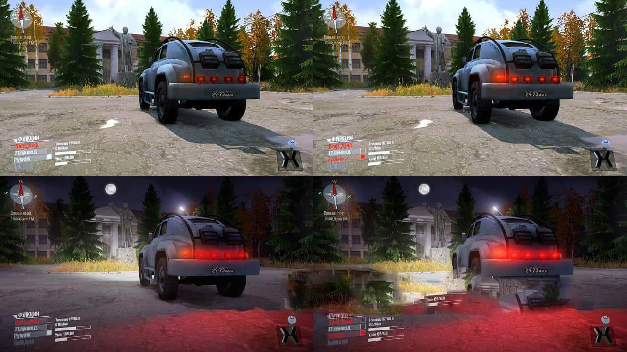 Spintires:Mudrunner - Gaz M-72 Modified + 4 Colors V1.0
