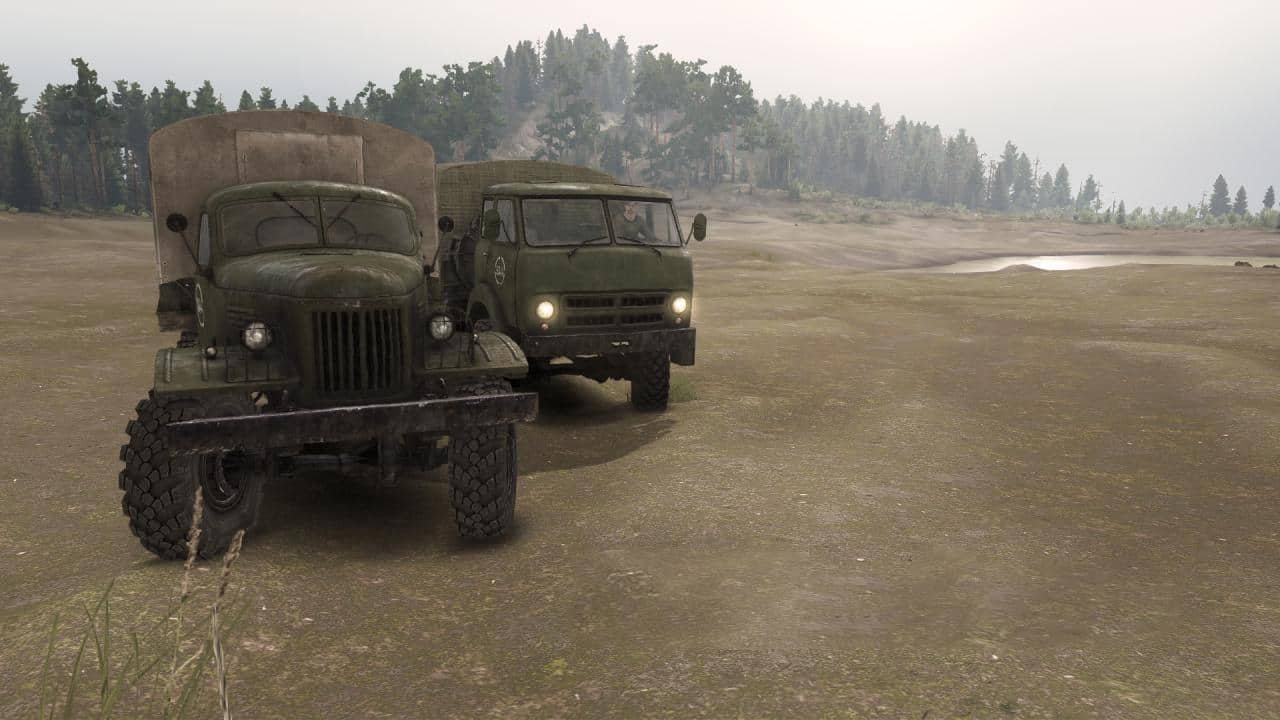 Spintires - Official Sounds of B-157 and B-505 V1.0