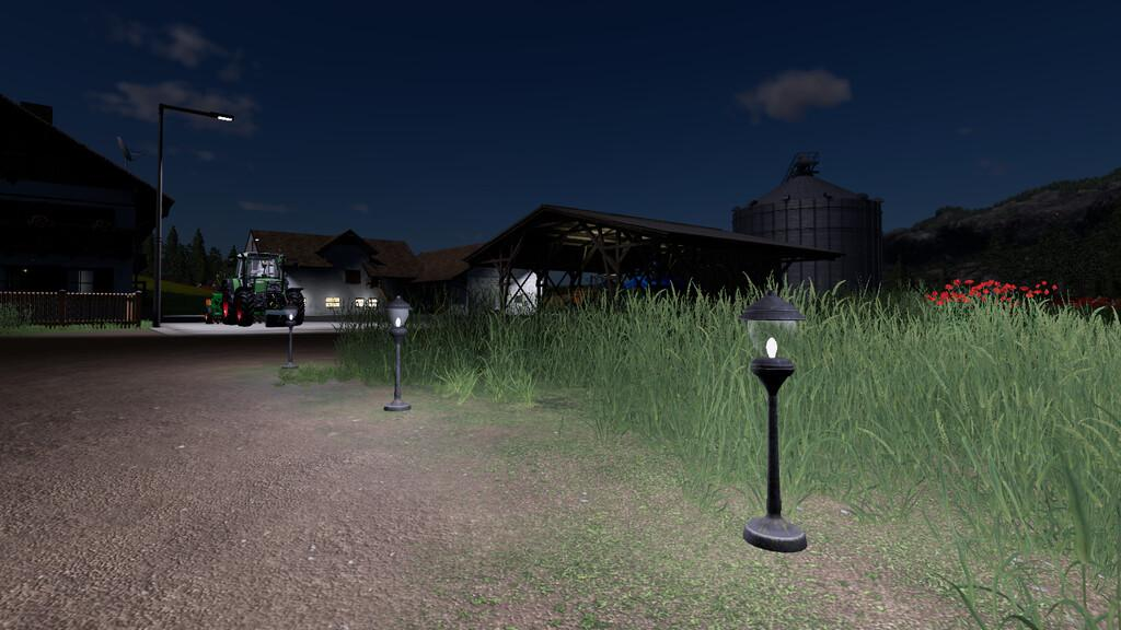 FS19 - Placeable Garden Lamp V1.0