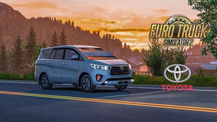 ETS2 - Toyota Innova Reborn V1.1 (1.41.x)