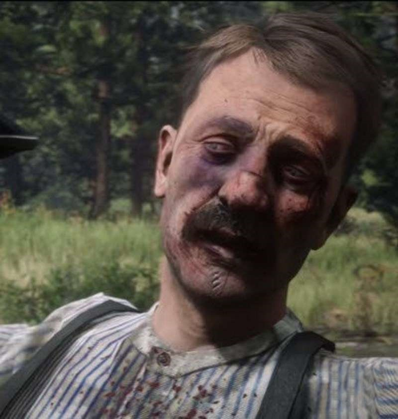 Red Dead Redemption 2 - Savegame After Thomas Downes