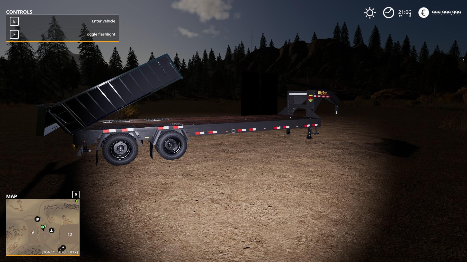FS19 - Big Tex 22 Gph With A Dump Box V1.0