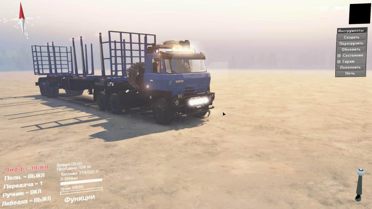Spintires - Tatra 815 Truck V2.0