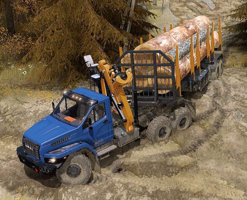 Spintires:Mudrunner - Ural Next Limited Truck V17.10.20