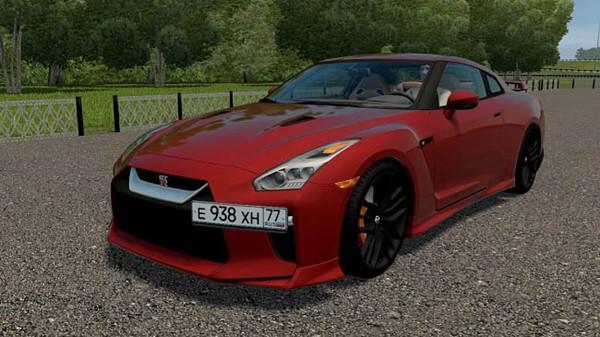 City Car Driving 1.5.9 - Nissan GT-R
