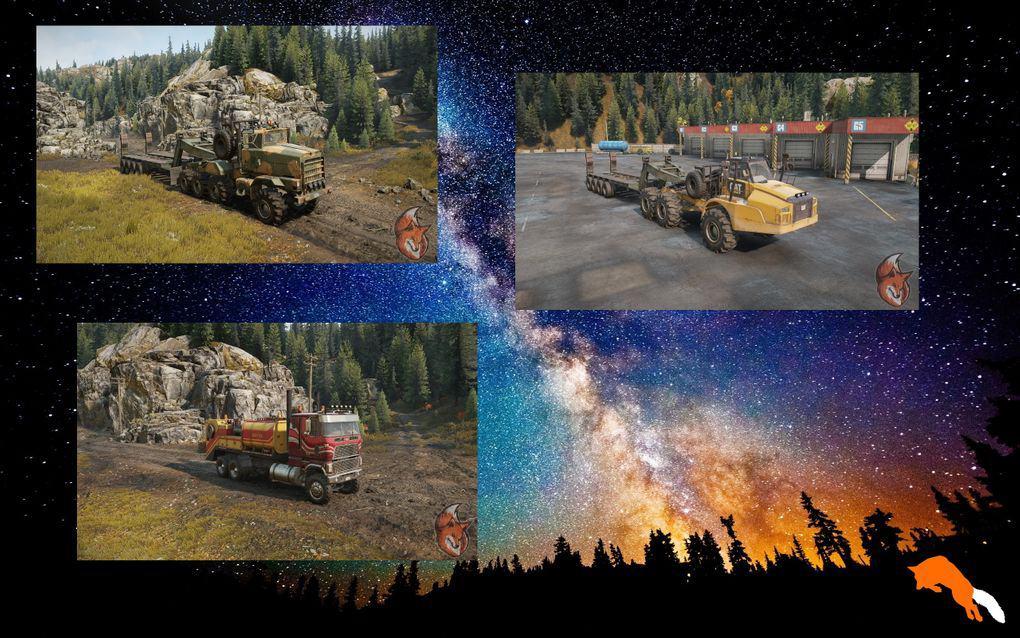SnowRunner - F0Xs Truck Pack V1.1.1