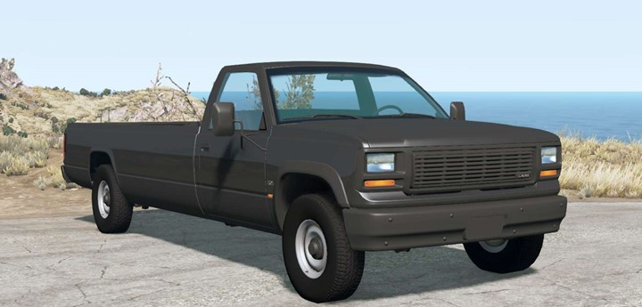BeamNG - Gavril D-Series Extra Long Bed V1.3