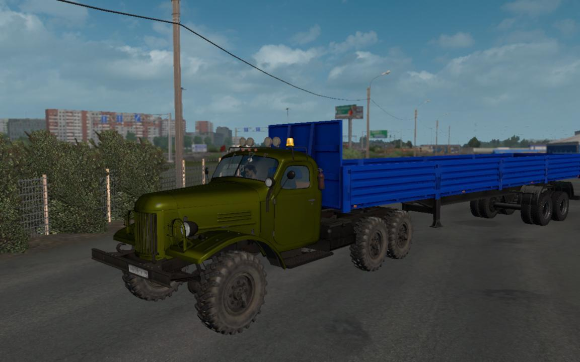 ETS2 - Zil 157 Truck V1.6 (1.39 - 1.40)